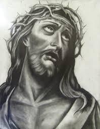 Jesus Drawing By Floartt D5