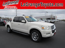 100 Ford Explorer Trucks PreOwned 2010 Sport Trac RWD 4dr Limited Pickup Truck