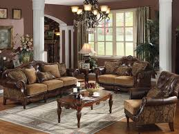 Decorating Idea For Traditional Living Room Small Formal Furniture Selection