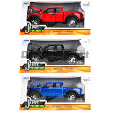 100 Just Trucks JADA JUST TRUCKS 2017 FORD F150 RAPTOR PICK UP TRUCK 124 DIECAST