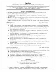 Retail Manager Resume Templates New Sales Fresh Store Sample