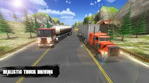18 Wheeler Big Truck Simulator 2018 - Truck Driver Android Game ...