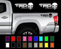 100 Stickers For Trucks TRD PUNISHER EDITION Decals Toyota Tacoma Tundra Truck Vinyl