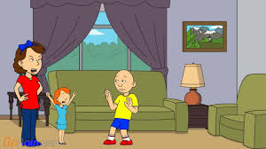 caillou touches rosie s grounded youtube