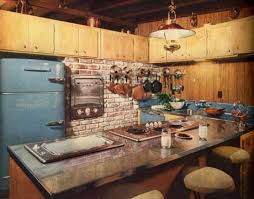 1950s Kitchen Decor Interior Design And Decorating Style 7 Major Trends Retro