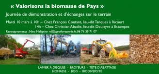 chambre agriculture gers 10 mars 2015 dans le gers valorisons la biomasse de pays