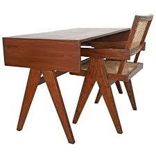 100 College Table And Chairs Pierre Jeanneret Desk And Chair Of Architecture Chandigarh