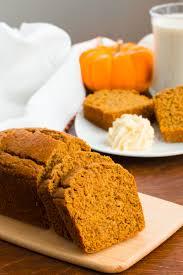 Libbys Pumpkin Bread Recipe by Healthy Pumpkin Bread Recipe Deliciously Dairy Free U0026 Naturally Vegan