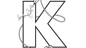 K Is For Kite Help Your Grandkids Practice The Alphabet With This Free Printable Coloring Page