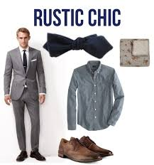 The Wool Tie Trend For Wedding Attire