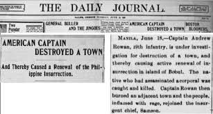 Sinking Of The Uss Maine Newspaper by The War Of 1898 And The U S Filipino War 1899 1902 Peace History