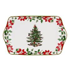 Spode Christmas Tree Platter by Christmas Trees Serving Trays Christmas Wikii