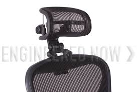 headrest for herman miller aeron chair h3 carbon by engineered now