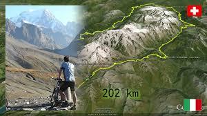 tour du mont blanc by mtb trailer