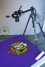 the easy way to do an overhead food shot