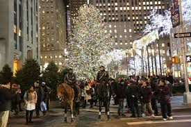 information about rockefeller center tree lighting