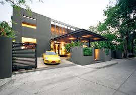Modern House Minimalist Design by Design And Construction Minimalist Modern House Bangkok Modern