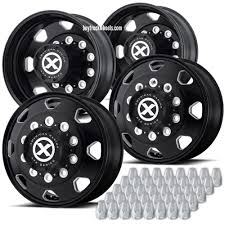 22.5 Black Aluminum Octane (Alcoa Style) Truck Wheel Kit – Buy Truck ... Truck Mud Tires And Rims Best Resource Cheap Price Trailer Wheel Disc Steel Wheels 2825 Raceline Suv Fuel D240 Cleaver 2pc Chrome Black Custom China Tubeless Fuel 2 Piece Wheels 20 Inch Black Iron Gate Insert Pinterest And Tire Package Prices Gallery For Volvo Suppliers Aftermarket Ssd Sota Offroad Assault D576 Gloss Milled Amazoncom Automotive Street Offroad