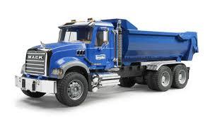 100 Dump Truck Tailgate Bruder 02823 MACK Granite Halfpipe