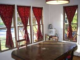 Red Curtains Living Room Beautiful For Or Pleasurable Inspiration Dining