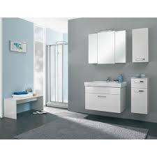 badezimmer spiegelschrank in weiß glanz bacoli i 3 türig
