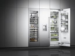 machine a glacon encastrable cuisine gaggenau présente ses nouveaux appareils de froid intégrables