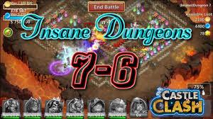 Castle Clash Pumpkin Duke Best Traits by Castle Clash Insane Dungeon 7 6 Gameplay Youtube