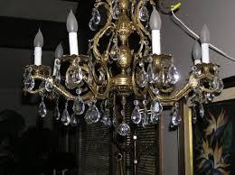 Antique Brass Chandelier Parts — Best Home Decor Ideas Antique