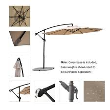 100 large cantilever patio umbrellas uk dual cantilever