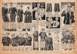 Boys Clothing Advertisement 1933