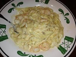 Olive Garden Seafood Alfredo