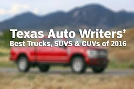 Texas Auto Writers Association Names Best Trucks, SUVs And CUVs In ... Trucks And Suvs Are Booming In The Classic Market Thanks To Ford Suv Or Truck Roush Best Compact Luxury Porsche Macan 8211 2017 10best Us October Sales Report Win Cars Lose Cleantechnica Texas Auto Writers Association Names Best Trucks Cuvs Nissan Cape Cod Ma Balise Of Toyota End Joint Trucksuv Hybrid Development Motor Trend Squatted Youtube Mercedesbenz Gls450 Offers Experience Form S Rv Trailers On Beach At Nipomo Pismo Gmc And Henderson Chevrolet