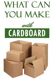 10 Things To Do With A Cardboard Box