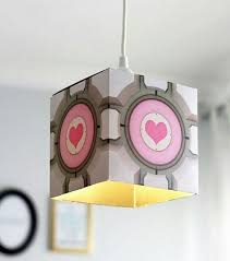 Glados Ceiling Lamp Amazon by Portal 2 Companion Cube Companion Cube Portal And Portal 2