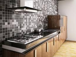 wand in der küche gestalten farbe material küchentrends