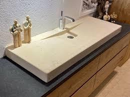 waschtisch marmor granit massivholz doppelwaschtisch bad