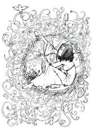 Free Coloring Pages For Adults Christmas Sheets Pdf Fairy To Print Page Adult Zen Anti Stress