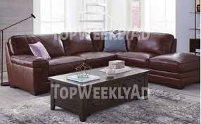 Myars Leather Sectional Collection ly at Macy s Macy s The