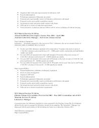 Laboratory Manager Resume Lab Top 8 Samples 1