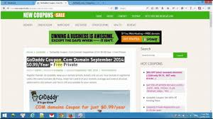 How To Use GoDaddy Coupon & Promo Codes - Updated 2019 Godaddy Coupon Code Promo 2019 New 1mo Deal Transfer Your Us Domain To For Only 099 Codes Hosting 99 Coupons Renewal Latest Black Friday Cyber Monday Deals Save 75 Buy Domain Name Godaddy Rs125 Flat Off Kevin Derycke Vinmakemoney On Pinterest How Use Updated Promo Code Domahosting By Webber Alex Issuu Get Com Name In Just Rupees Offer April Godaddy