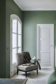 wohndesign wohnzimmer wandfarben green farrow and