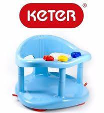 keter baby bath tub ring seat blue ebay