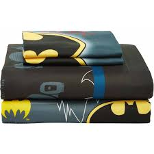 Queen Size Batman Bedding by Warner Brothers Batman Guardian Speed Bed In A Bag Bedding Set