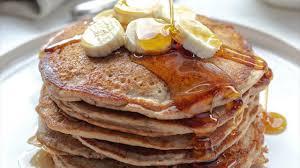 gesunde pancakes mit vollkorn dinkelmehl