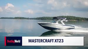 100 Mastercraft Truck Equipment MasterCraft XT23 Boat Test YouTube
