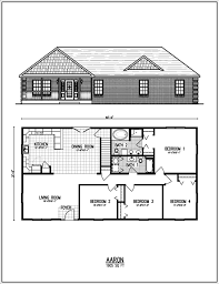 Fresh Single Level Ranch House Plans by More Bedroom 3d Floor Plans Idolza