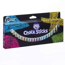 Little Brian LBCS05CA20 Chalk Paint Sticks-20 Assorted Colours ...