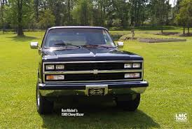 100 89 Chevy Truck 19 Blazer Ron M LMC Life