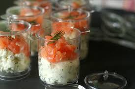 requia cuisine verrines de cottage cheese et saumon fumé chez requia cuisine et