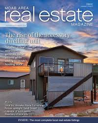 100 Homes For Sale Moab Area Real Estate Magazine AugustSeptember 2018 By Area